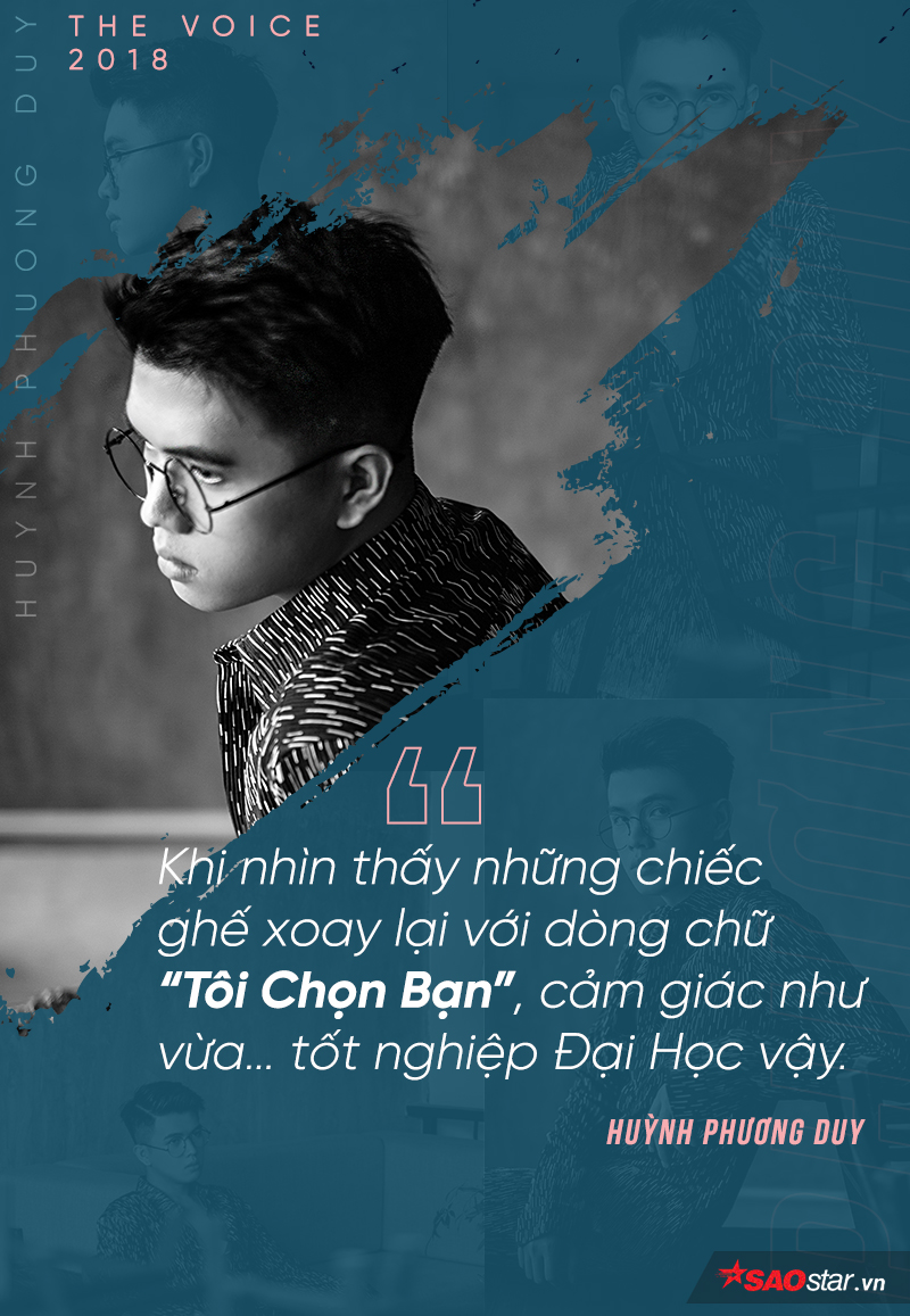 Huỳnh Phương Duy: Chàng trai '3 trượt' bứt phá đầy ngoạn mục tại The Voice 2018!