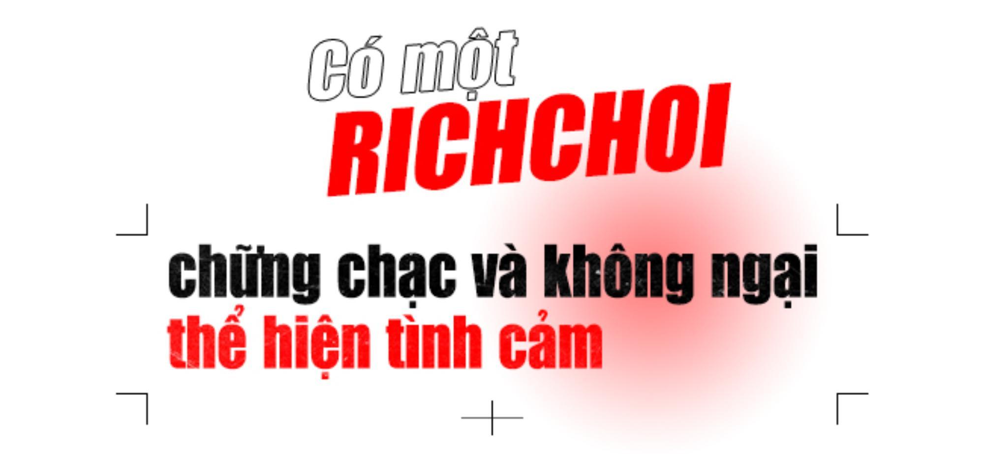 Hành trình RichChoi tại King Of Rap: Tôi của hiện tại đã mất đi sự ngông nghênh trong quá khứ Ảnh 3