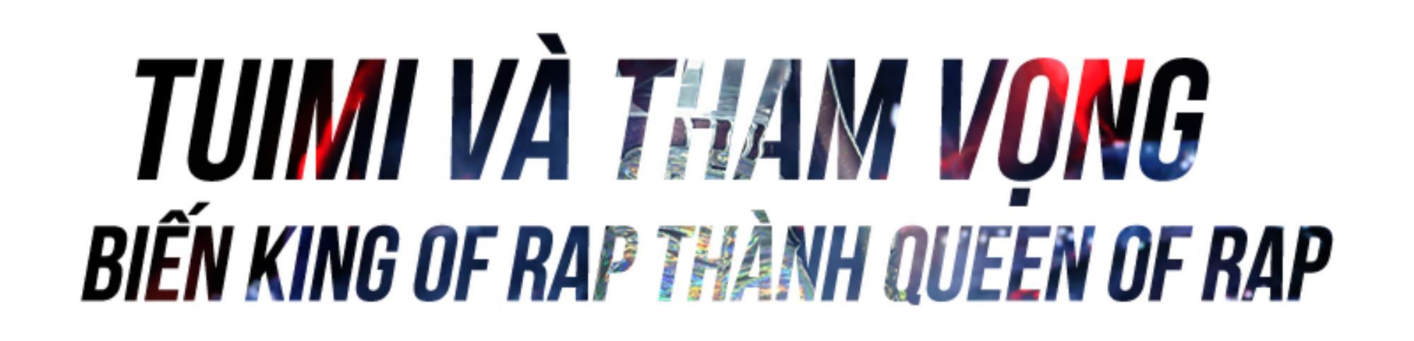 Hành trình đến ngôi vị Á quân King Of Rap của Tuimi: Nhân tố bí ẩn chính thức trở thành Queen Of Rap Ảnh 1