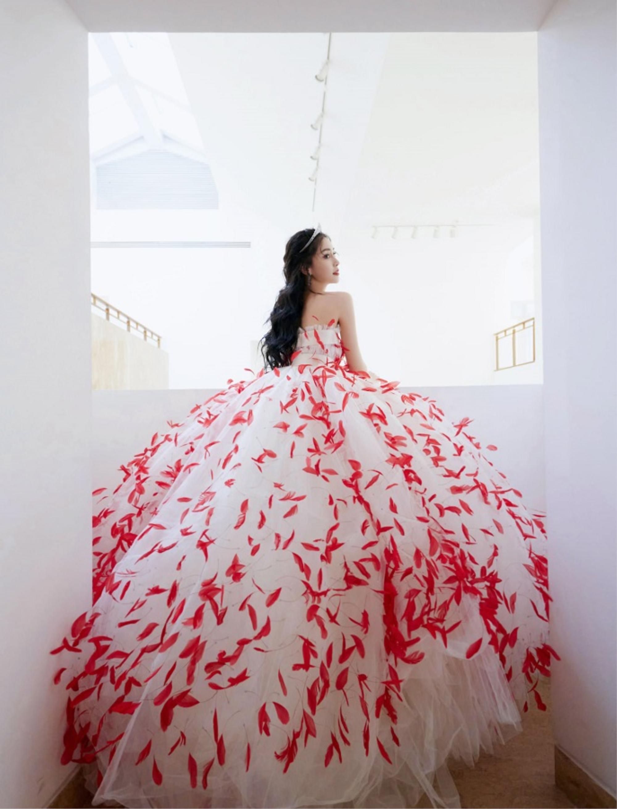 Angelababy xứng danh nữ hoàng thảm đỏ bất bại xứ Trung Ảnh 12