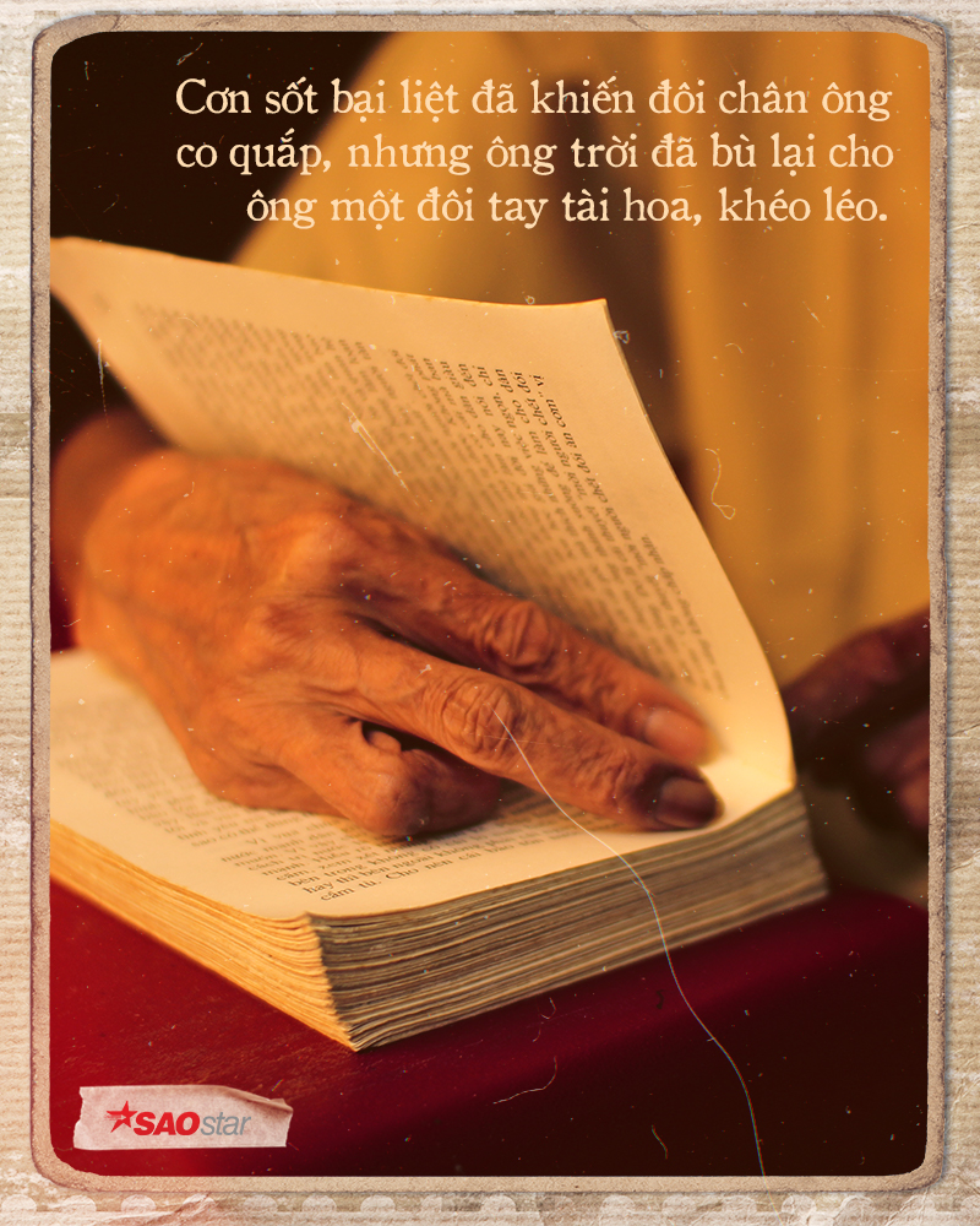 Đôi tay mang 'màu thời gian' của người đàn ông 40 năm làm nghề sửa sách ở Sài Gòn Ảnh 2