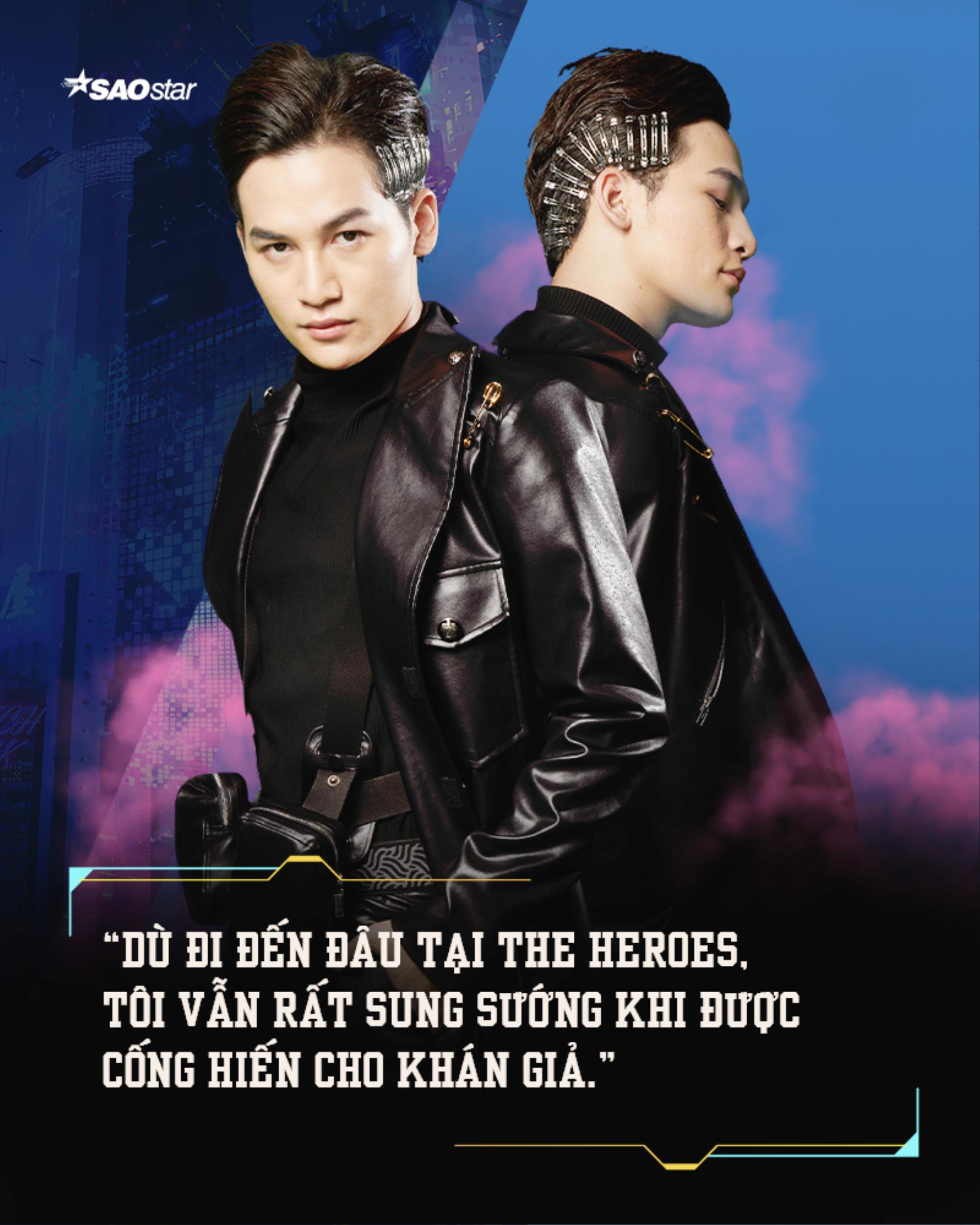 'Chiến binh' Ali Hoàng Dương: 'Thành công tại The Heroes là 'thời của tôi' đã đến' Ảnh 3