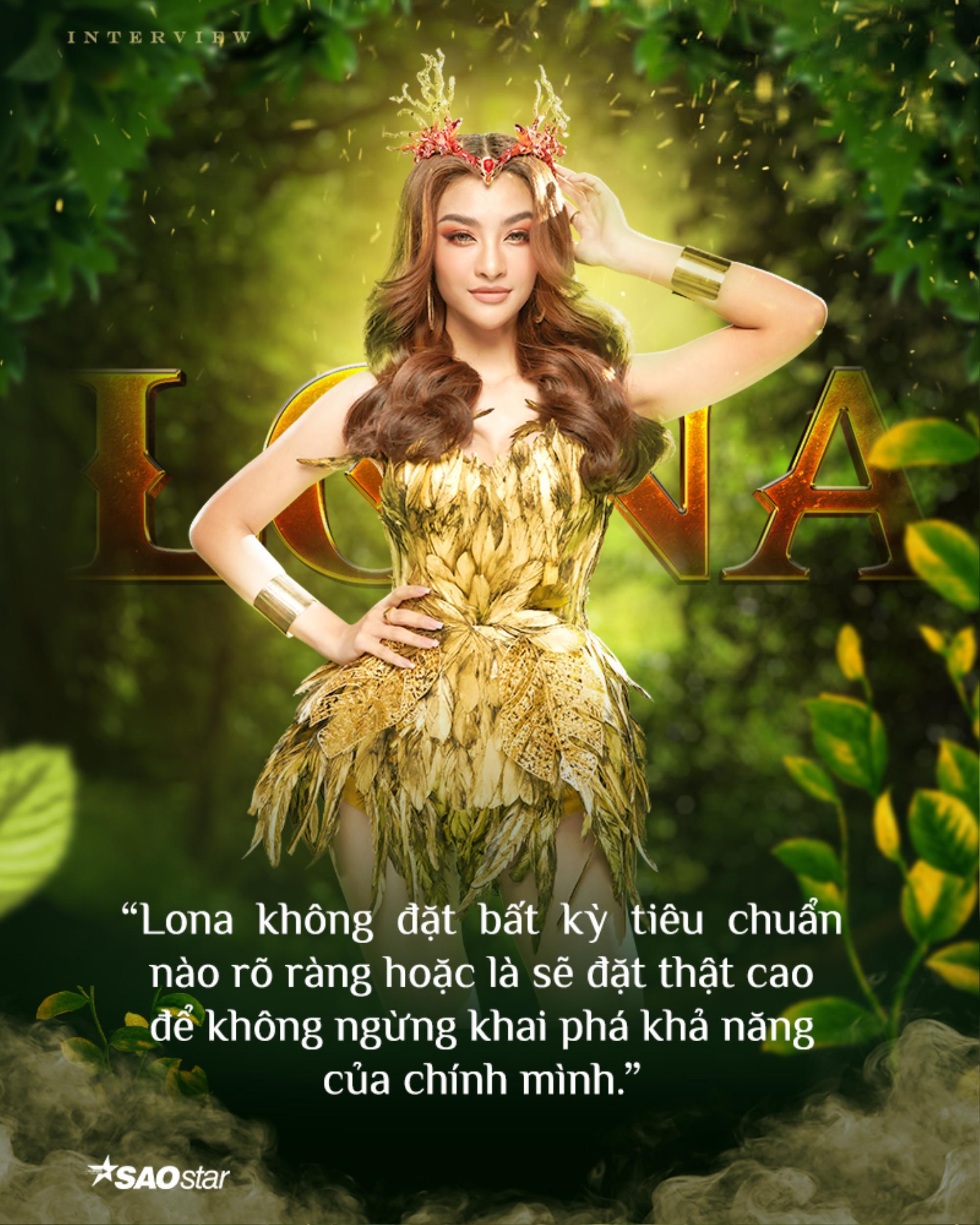 Lona Kiều Loan: 'Tôi sẽ là nữ hoàng tại The Heroes' Ảnh 5