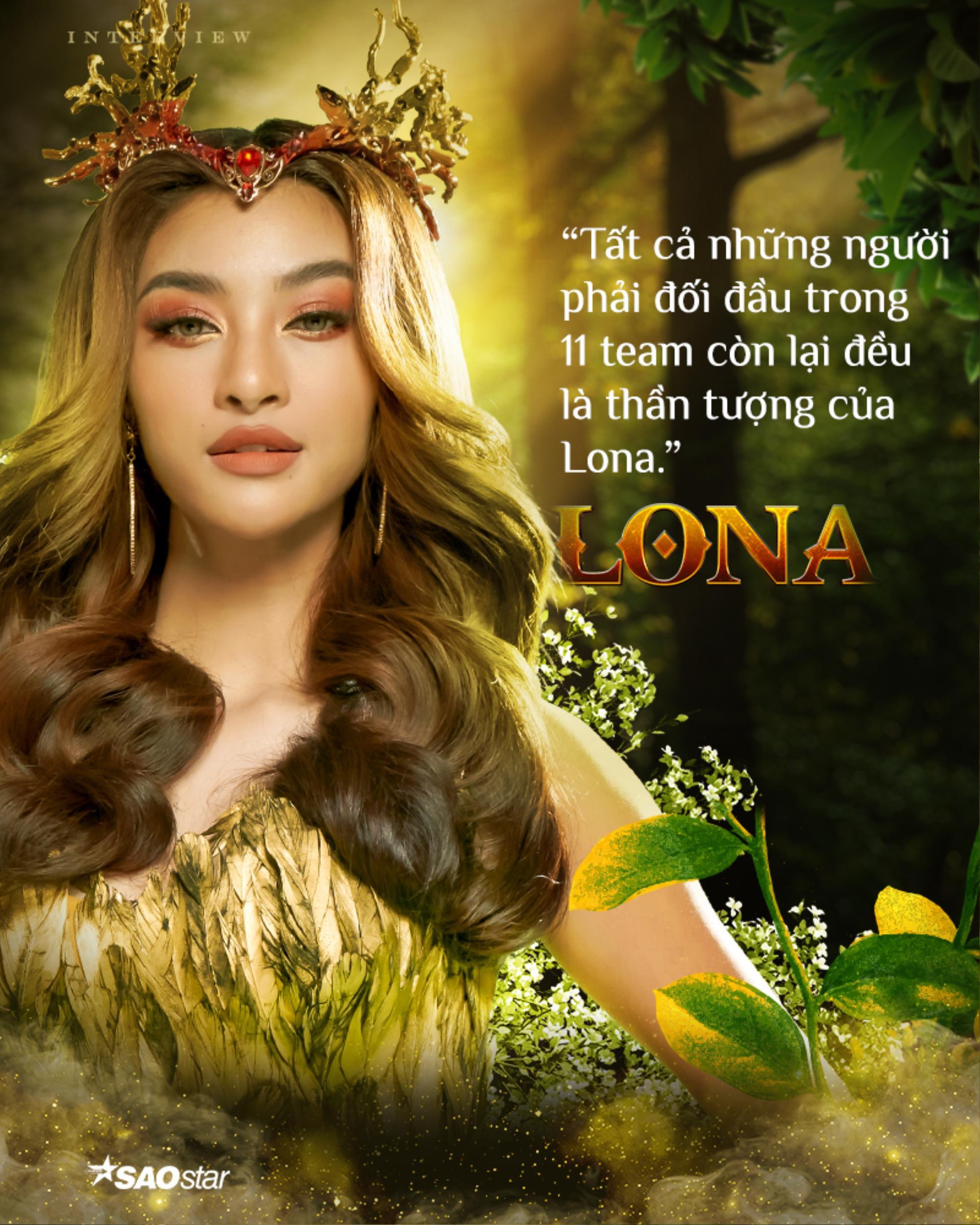 Lona Kiều Loan: 'Tôi sẽ là nữ hoàng tại The Heroes' Ảnh 4