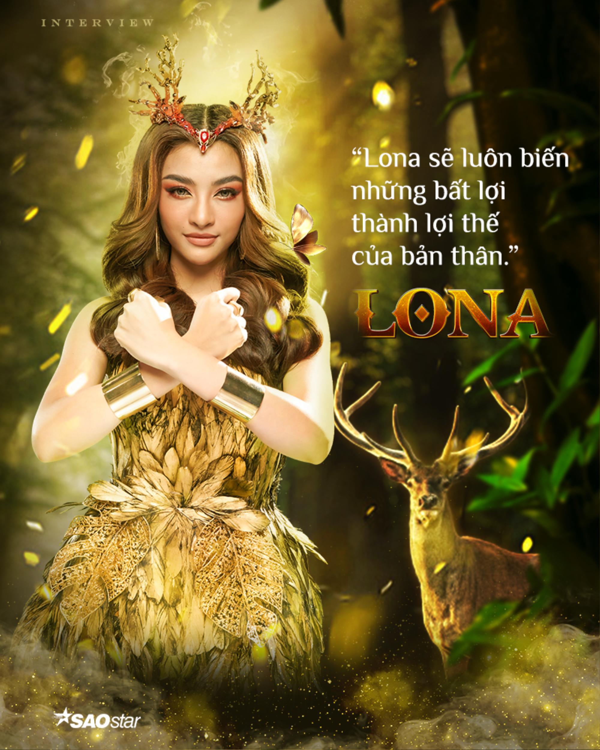 Lona Kiều Loan: 'Tôi sẽ là nữ hoàng tại The Heroes' Ảnh 3