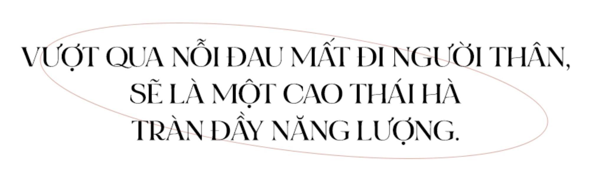 Cao Thái Hà: Chưa từng nghĩ phải vượt qua nỗi đau mất người thân, chọn sống tích cực để đối diện mọi thứ Ảnh 4