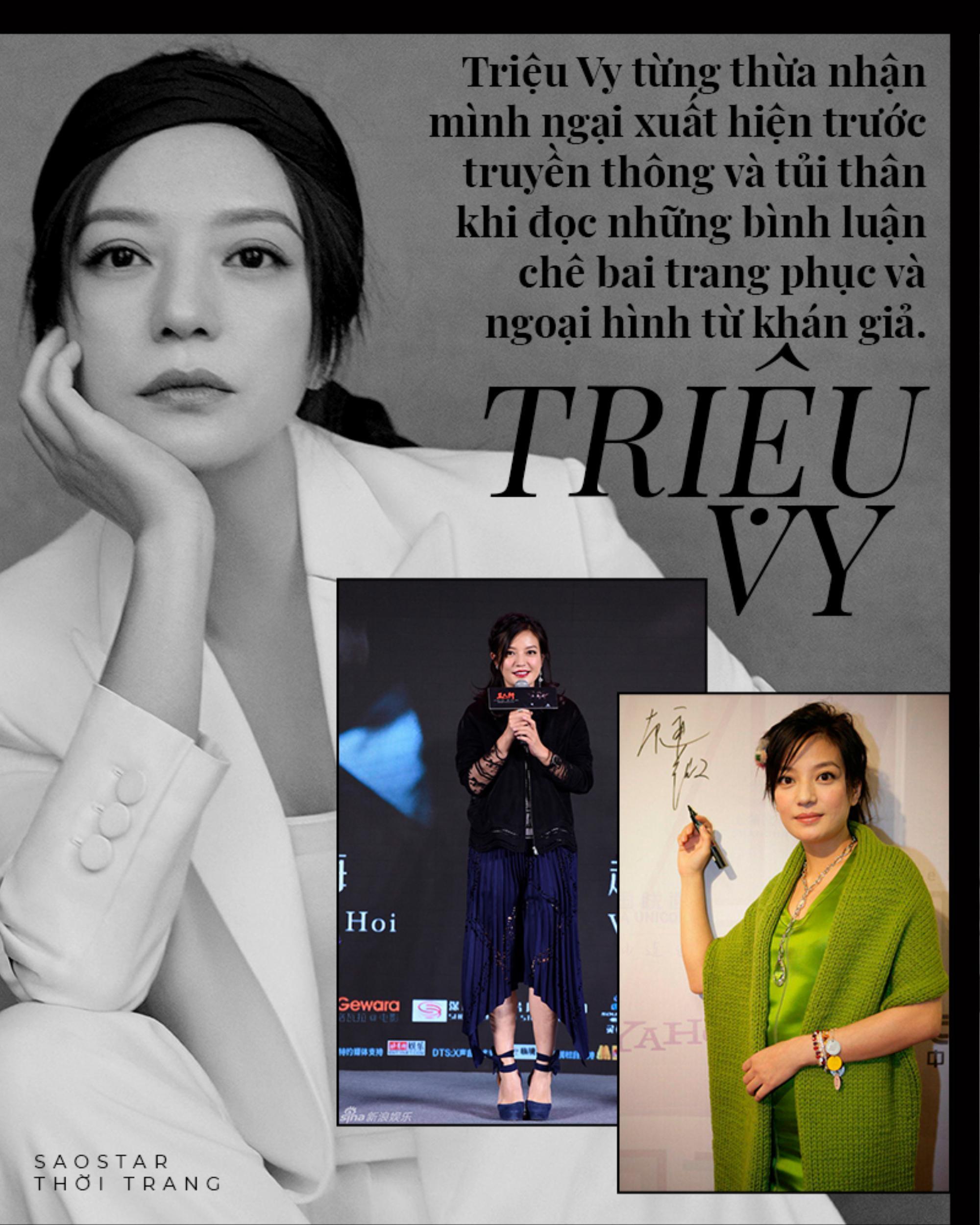 Con đường thời trang 'chông gai' của hai mỹ nhân bị phong sát Triệu Vy & Trịnh Sảng Ảnh 6
