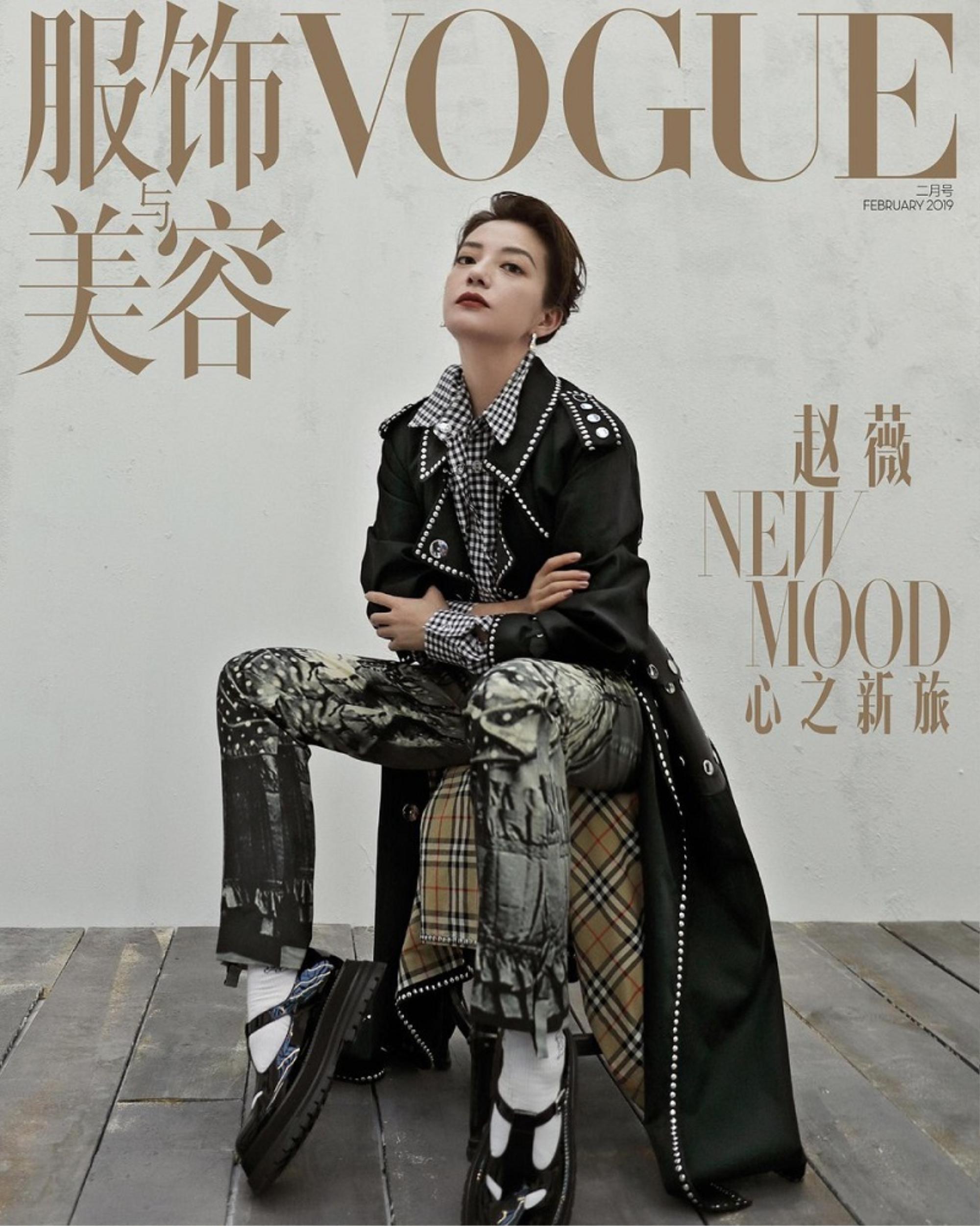 Con đường thời trang 'chông gai' của hai mỹ nhân bị phong sát Triệu Vy & Trịnh Sảng Ảnh 7