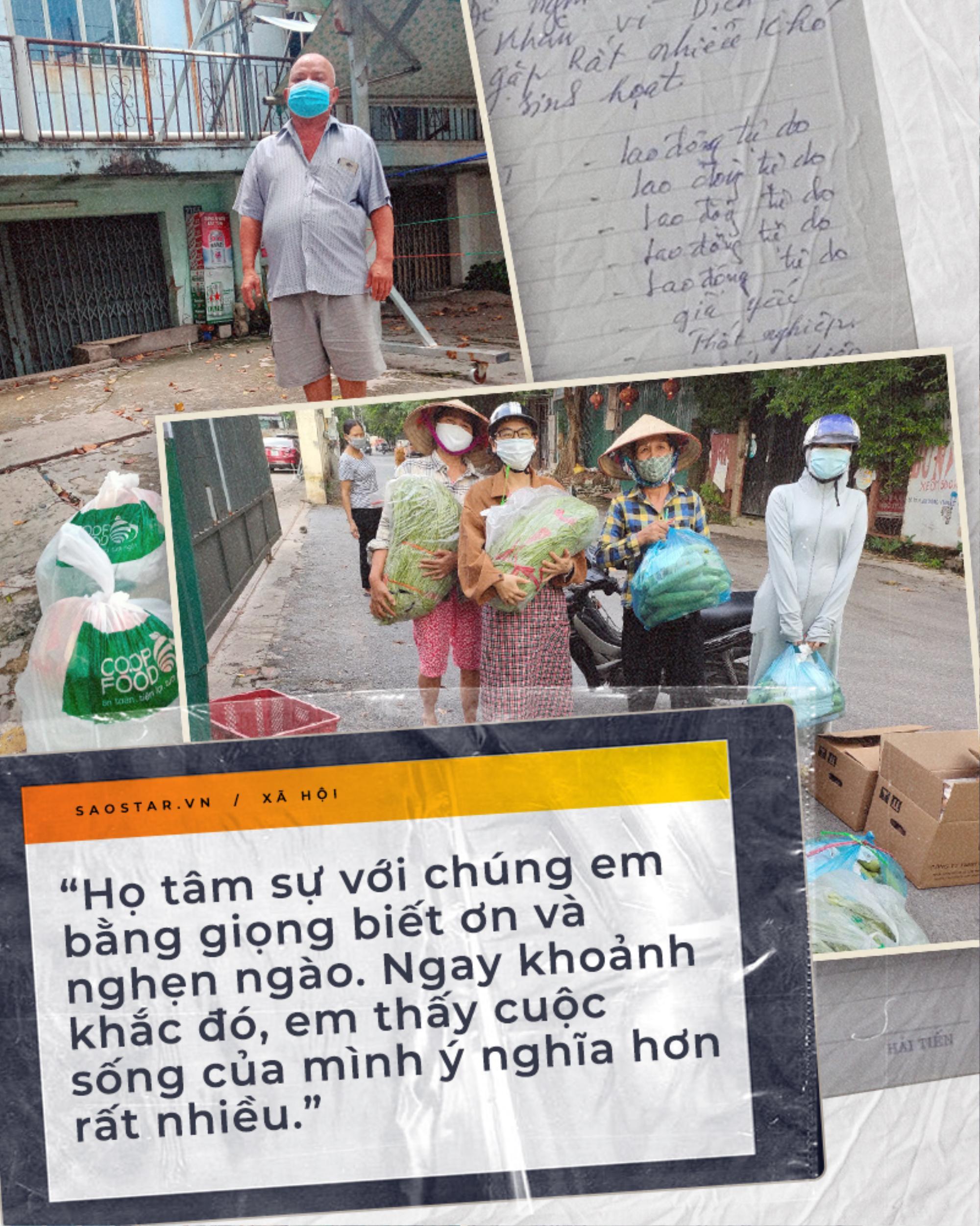 GenZ và chuyện cứu trợ những người dân mắc kẹt tại thành phố