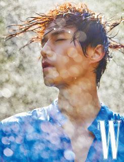 Thần chết Lee Dong Wook đẹp trời ngời ngời trên tạp chí W mà vẫn khiêm tốn nói Goblin là bộ phim của Gong Yoo ảnh 6