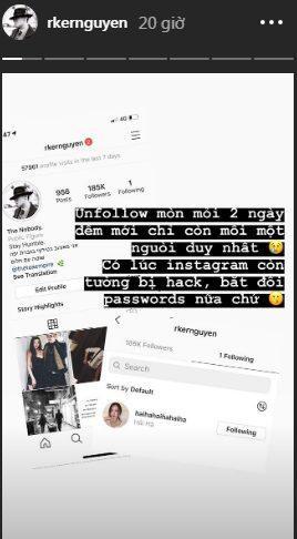 Chiều người yêu như Rocker Nguyễn, bỏ ra 2 ngày đêm để unfollow hết bạn bè trên instagram chỉ để theo dõi độc nhất bạn gái ảnh 8