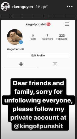 Chiều người yêu như Rocker Nguyễn, bỏ ra 2 ngày đêm để unfollow hết bạn bè trên instagram chỉ để theo dõi độc nhất bạn gái ảnh 9