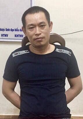 Bắt Nguyễn Văn Nưng - đối tượng còn lại đã trốn khỏi trại giam Công an tỉnh Bình Thuận sau 10 ngày. Ảnh công an cung cấp