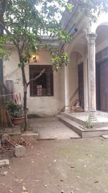 Căn nhà nơi xảy ra vụ trộm.