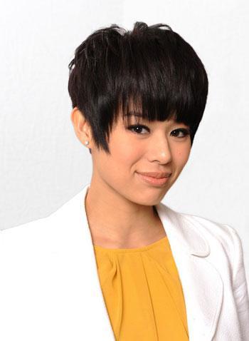 Những nữ diễn viên TVB đẹp không ngờ khi để tóc ngắn ảnh 20