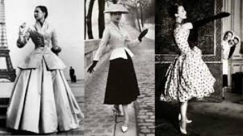 Với phom áo thắt lại ở phần eo và ôm gọn nhẹ thân trên, New Look ngay lập tức trở thành dấu ấn vàng son bởi không chỉ gợi lại phong cách lịch sử giữa thế kỉ 19, mà còn mở ra chân trời mới cho thời trang trong tương lai.