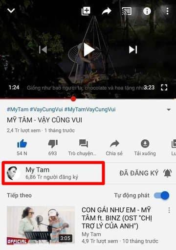 Kênh Youtube Mỹ Tâm lộ lượng đăng ký khủng, hot như Sơn Tùng M-TP cũng phải cúi đầu chào thua ảnh 2
