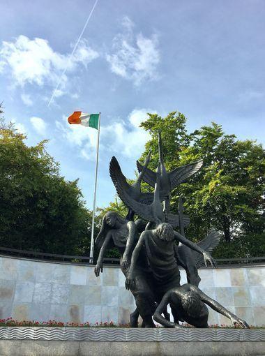 Vườn tưởng niệm ở thủ đô Dublin.