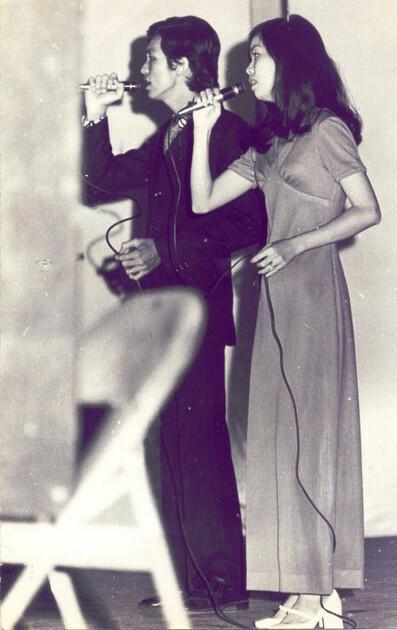 Nguyễn Chánh Tín và Bích Trâm từng là một cặp song ca ăn ý trước 1975