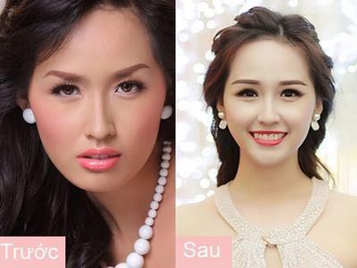 Chỉ nhờ kiểu lông mày, nhan sắc của mỹ nhân Việt thay đổi chóng mặt thế này đây!