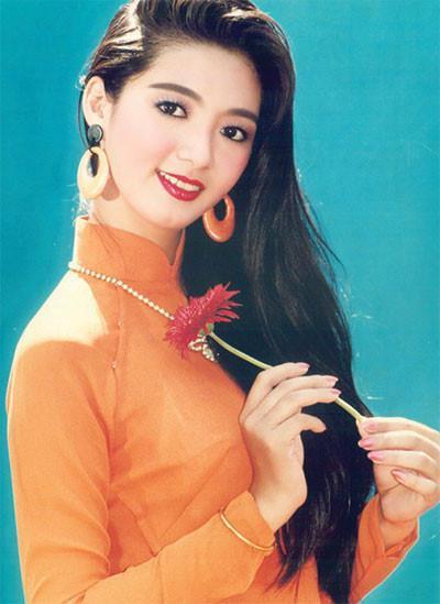Hình ảnh quen thuộc của Thanh Xuân chụp năm 1993. Ảnh: T.L.