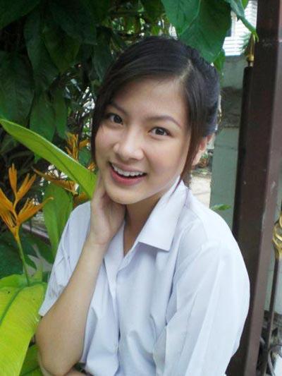 Hình ảnh năm 18 tuổi của nữ diễn viên trong Mối tình đầu năm 2010.
