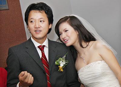 Xuân Tùng và vợ cũ Đan Lê