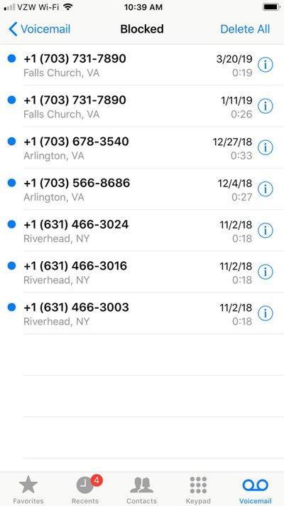 Điều gì sẽ xảy ra khi bạn chặn số ai đó trên iPhone của mình? ảnh 1