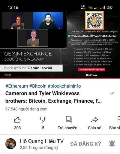Hàng loạt kênh YouTube của nghệ sĩ Việt Nam bị hack: Nạn nhân có cả Lý Hải, Hồ Quang Hiếu Ảnh 2