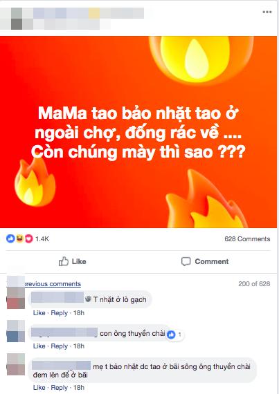 Đoạn chia sẻ trên mạng xã hội của chàng trai được bố mẹ… nhặt về từ bãi rác khiến nhiều người bật cười. Ảnh chụp màn hình.