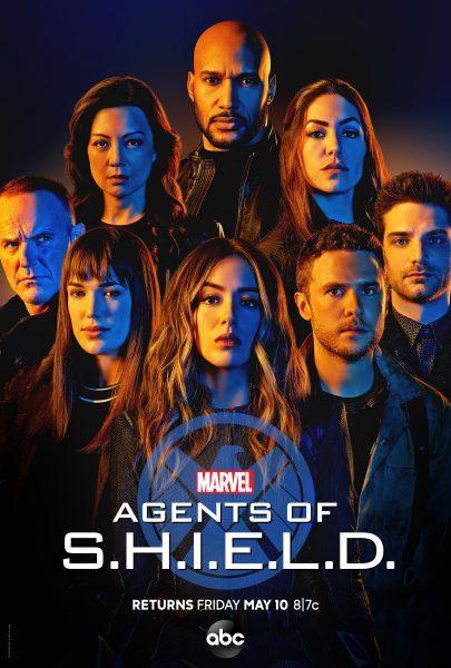 Poster của Agents of S.H.I.E.L.D mùa 6.