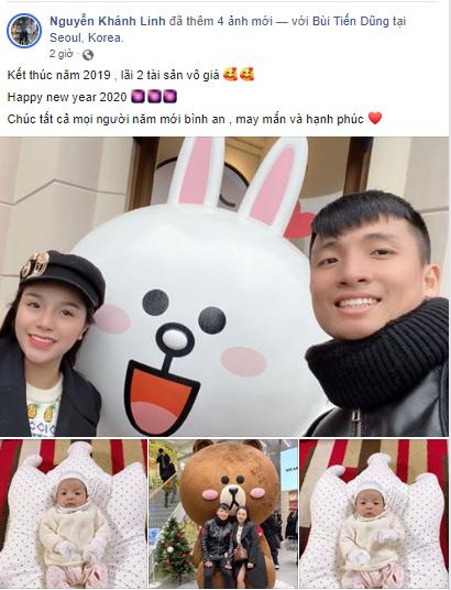 Hội bạn gái cầu thủ đón năm mới 2020: Người hào hứng phấn khởi, kẻ luyến tiếc khi năm cũ qua đi ảnh 0