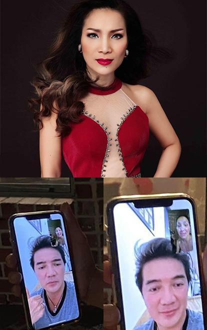 Hồng Ngọc lộ gương mặt bị bỏng nặng qua màn hình facetime cùng Đàm Vĩnh Hưng ảnh 4