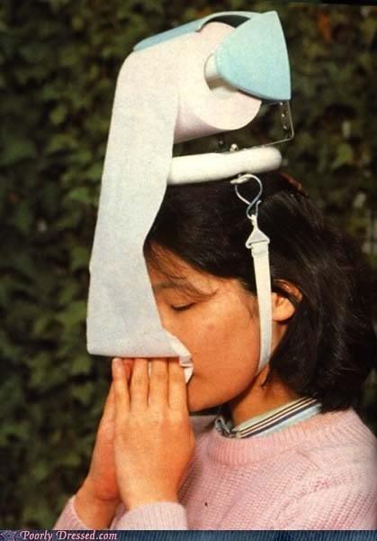 Với những người đang bị xổ mũi, đây sẽ là một món quà tuyệt vời, vừa độc đáo, vừa tiện dụng.