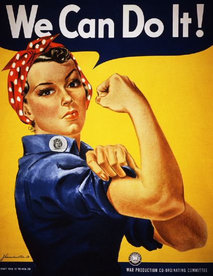 Bức họa We Can Do It! (Rosie the Riveter).