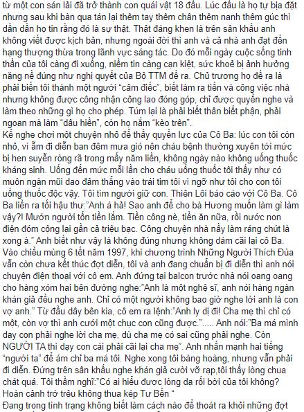 Nghệ sĩ Xuân Hương ngầm tiết lộ sự thật về giới tính của MC Thanh Bạch? ảnh 1