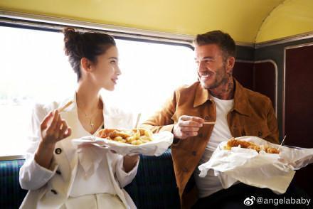 David Beckham hợp tác với Angelababy bị dân mạng Anh nói bóng gió: Anh ta chưa từng cười như vậy với vợ mình bao giờ cả ảnh 5