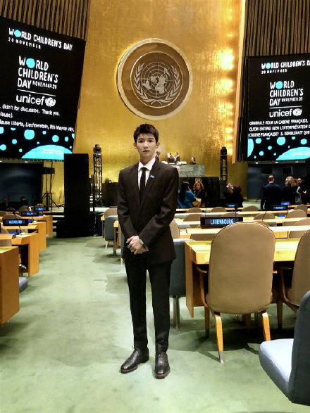 Vương Nguyên lần thứ ba xuất hiện Hội đồng Liên Hiệp Quốc để phát ngôn cho quyền lợi trẻ em ảnh 5