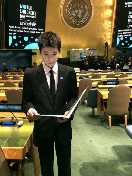 Vương Nguyên lần thứ ba xuất hiện Hội đồng Liên Hiệp Quốc để phát ngôn cho quyền lợi trẻ em ảnh 6