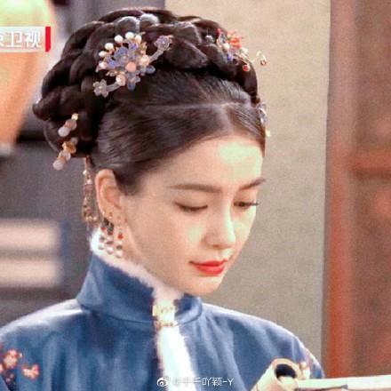 Angelababy thử thách với tạo hình Thanh cung, hình ảnh xinh đẹp khiến người xem chết mê ảnh 9