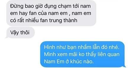 Ngọc Thanh Tâm bị fan Nam Em gửi tin nhắn trách cứ, đe dọa sau khi tập 1 Móng tay nhọn lên sóng.
