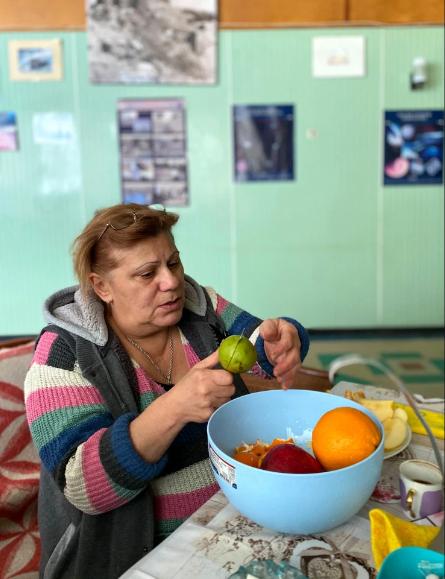 Gohar Hovhannisian đã quen với việc bị kẹt tại trạm nghiên cứu giữa mùa đông.