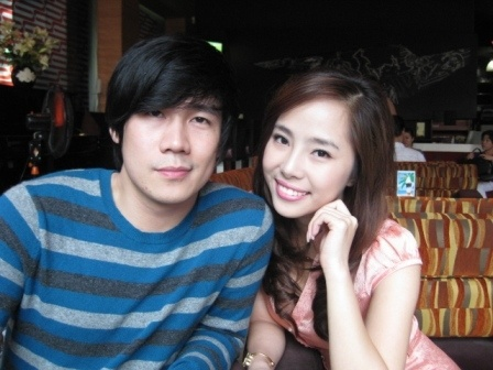 Quỳnh Nga và Khánh Phương.