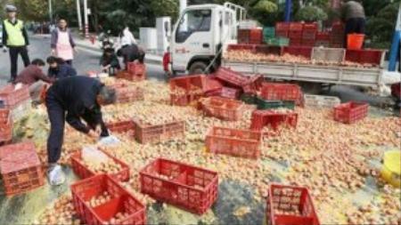 Sự việc xảy ra ngày 25/10 tại thành phố Thái An, tỉnh Sơn Đông, Trung Quốc.