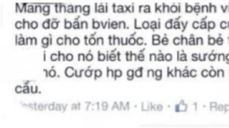 """Những lời buộc tội người lái taxi bằng những ngôn từ như """"thằng""""… khiến nhiều người phải giật mình."""