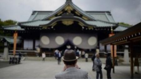 Đền Yasukuni. Ảnh: EPA.