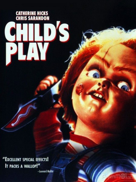 Poster Child's Play 1988.