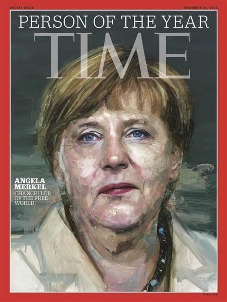Thủ tướng Đức được vinh danh là Nhân vật của năm 2015 ảnh 0