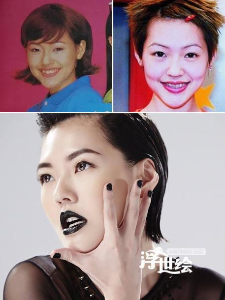 MC Tiểu S, em gái Từ Hy Viên thay đổi từ phong cách bụi bặm sang gợi cảm chỉ nhờ sửa răng.