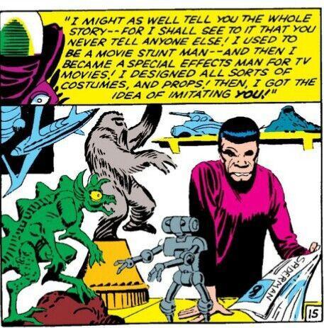 Quá khứ của Mysterio